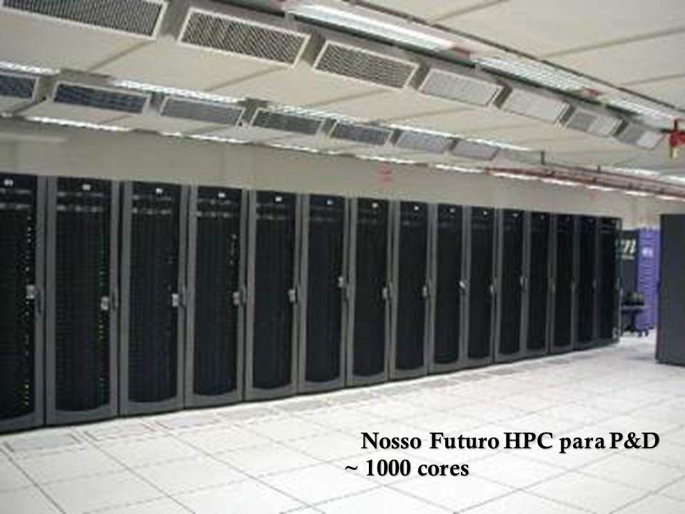 Nosso Futuro HPC para P&D Nosso Futuro HPC para P&D ~ 1000 cores