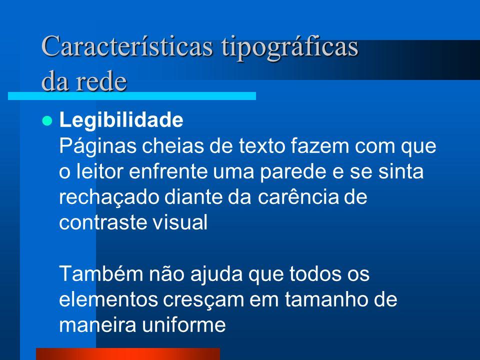 Tipografia Alinhamento As margens definem a zona de leitura ao separar o corpo do texto da zona que o rodeia.