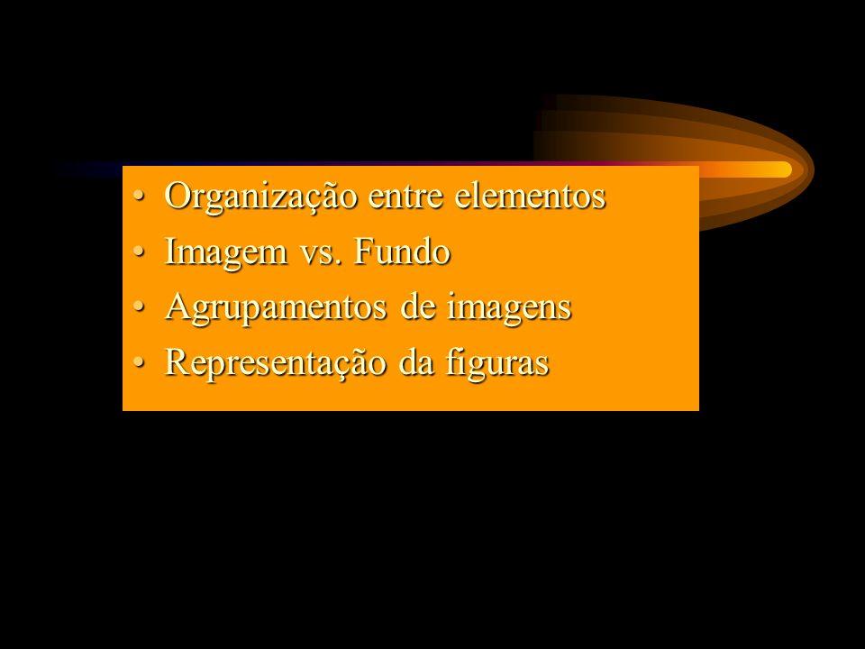 Organização entre elementosOrganização entre elementos Imagem vs.