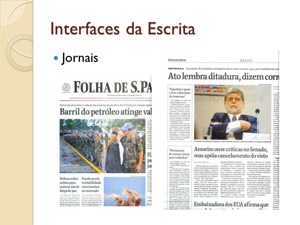 Interfaces da Escrita Revistas