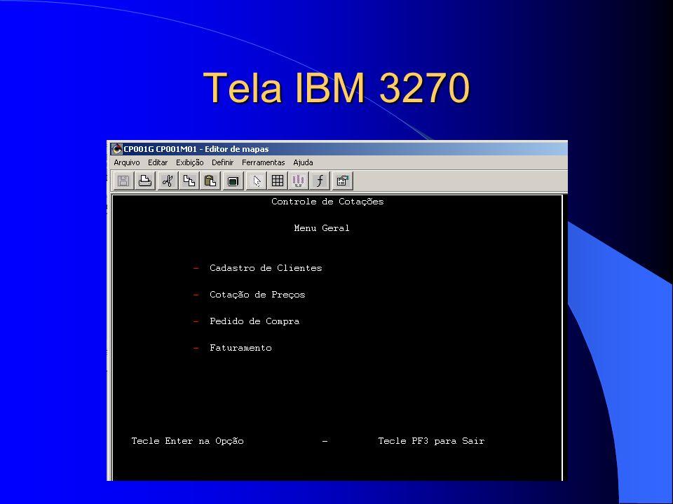 Programa IBM 3270