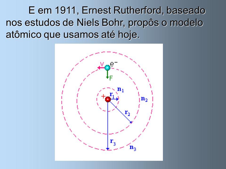 Entretanto, sabemos, hoje, que o QUARK é a menor partícula atômica, descoberta feita em 1994 por pesquisadores americanos.