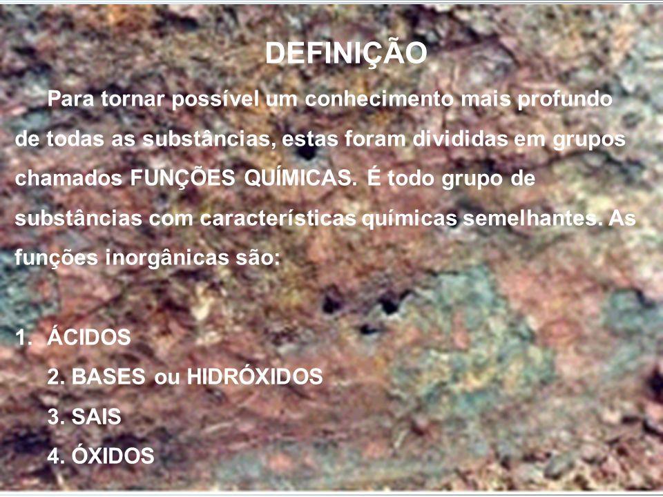 Nomenclatura dos Óxidos Óxido denome do elemento CaO Óxido de CálcioMgO Óxido de Magnésio H2O Óxido de HidrogênioK2O Óxido de Potássio FeO Óxido de FerroAlO3 Óxido de Alumínio