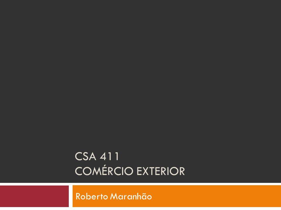 Ementa Introdução ao comércio exterior; Blocos econômicos e acordos internacionais; Exportação: aspectos administrativos.
