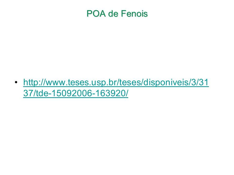 POA de Fenois http://www.teses.usp.br/teses/disponiveis/3/31 37/tde-15092006-163920/http://www.teses.usp.br/teses/disponiveis/3/31 37/tde-15092006-163