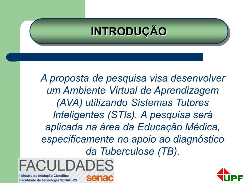 A proposta de pesquisa visa desenvolver um Ambiente Virtual de Aprendizagem (AVA) utilizando Sistemas Tutores Inteligentes (STIs). A pesquisa será apl