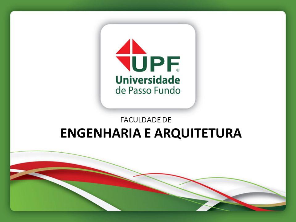 FACULDADE DE ENGENHARIA E ARQUITETURA