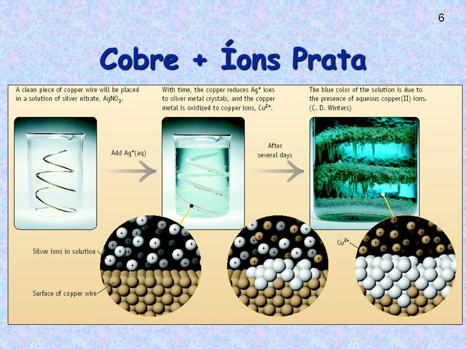 6 Cobre + Íons Prata