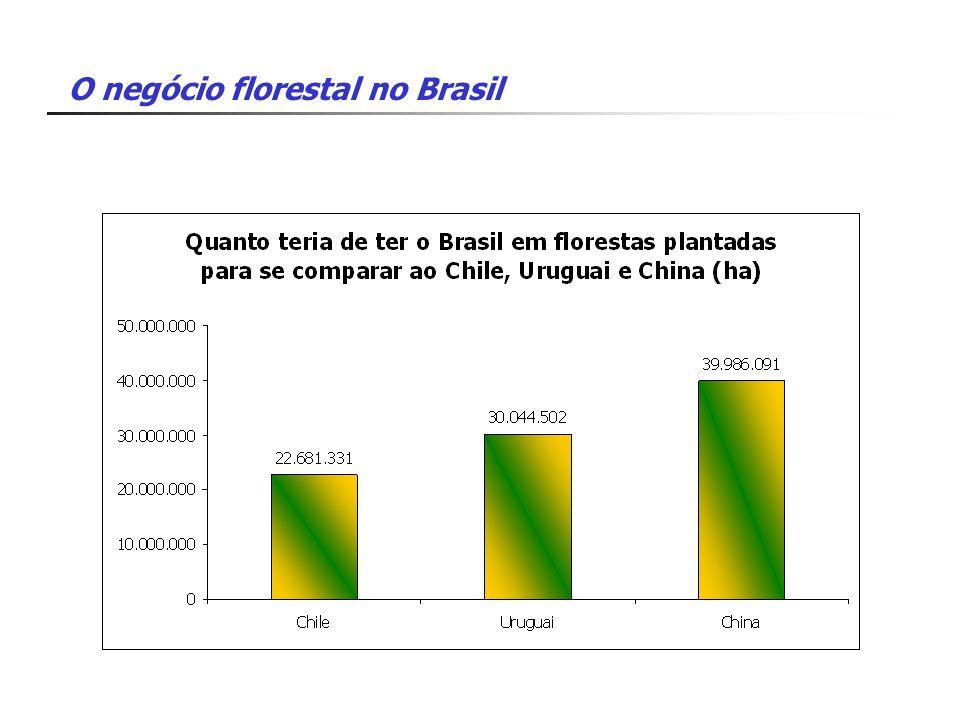 O negócio florestal no Brasil