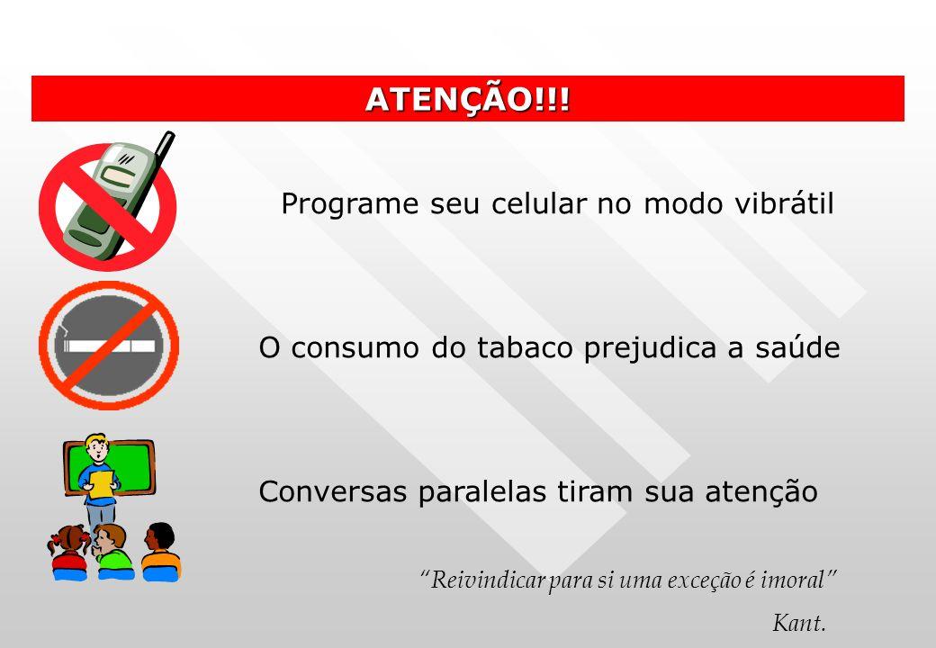 Programe seu celular no modo vibrátil ATENÇÃO!!.
