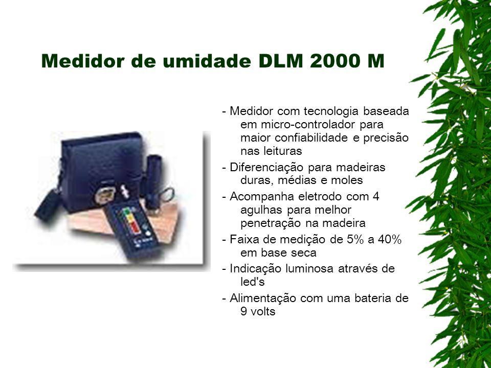 Medidor de umidade DLM 2000 M - Medidor com tecnologia baseada em micro-controlador para maior confiabilidade e precisão nas leituras - Diferenciação