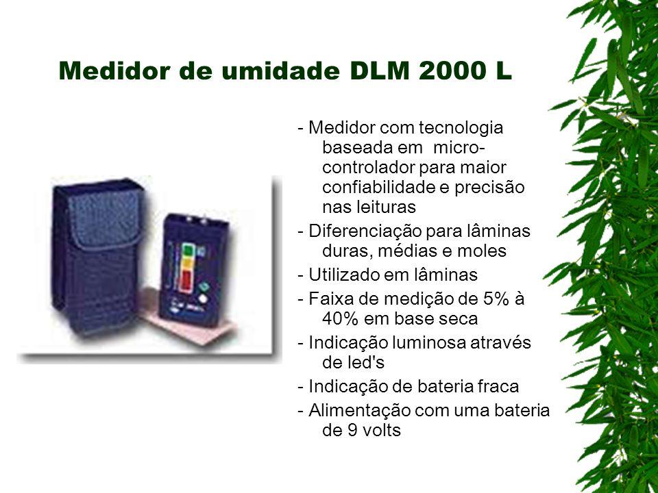 Medidor de umidade DLM 2000 L - Medidor com tecnologia baseada em micro- controlador para maior confiabilidade e precisão nas leituras - Diferenciação