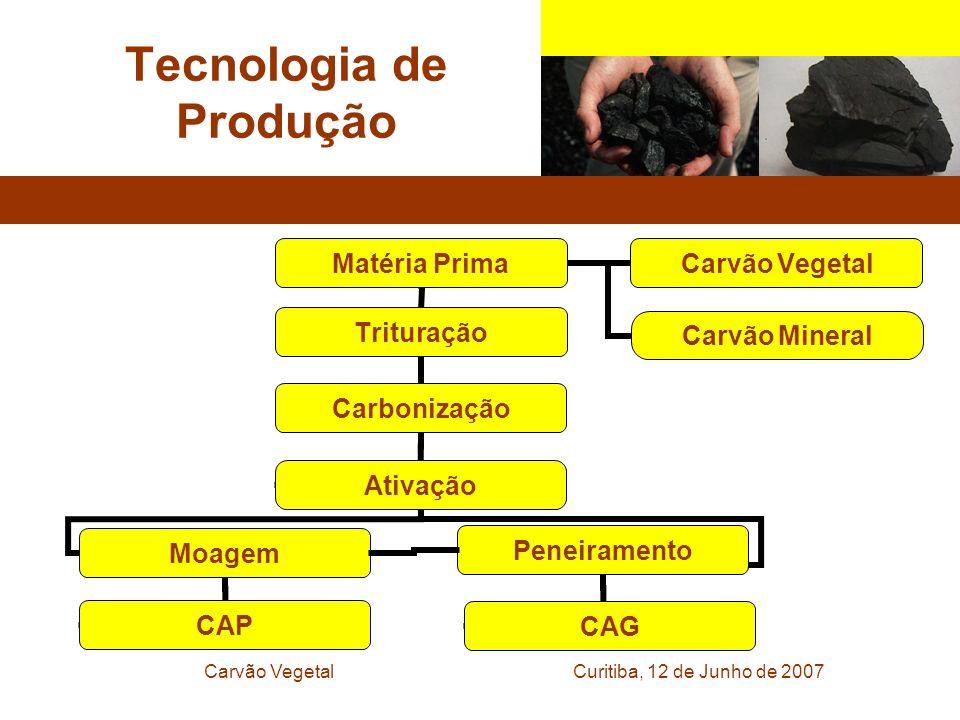 Curitiba, 12 de Junho de 2007Carvão Vegetal Tecnologia de Produção