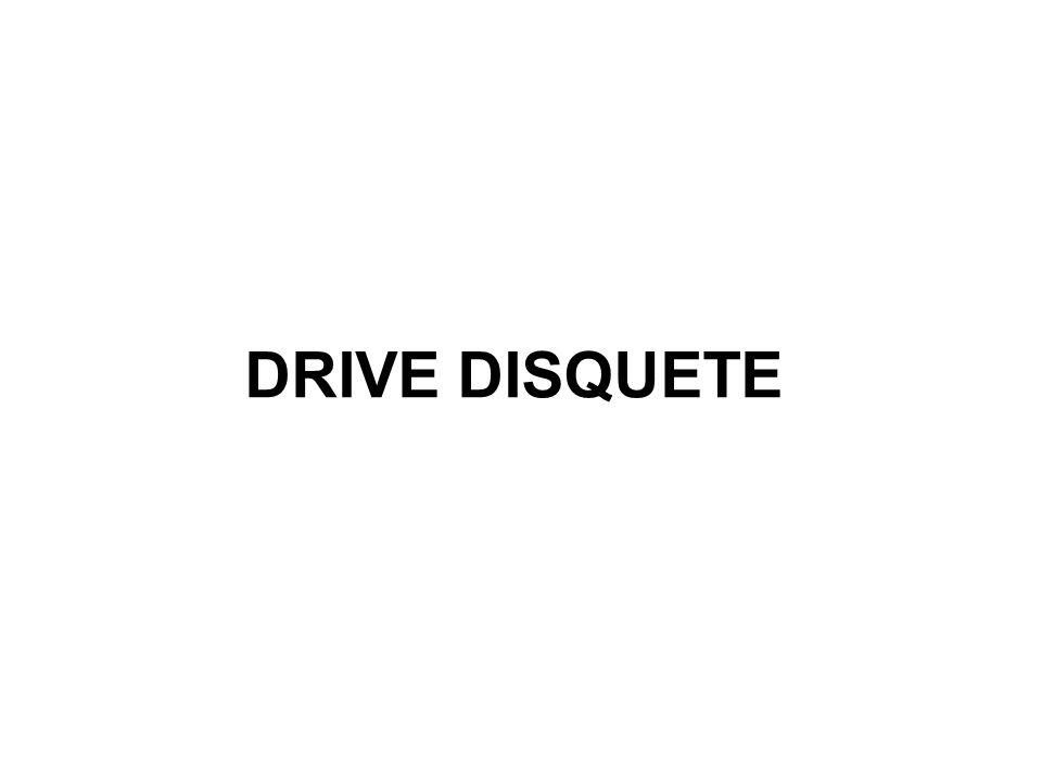 DRIVE DISQUETE