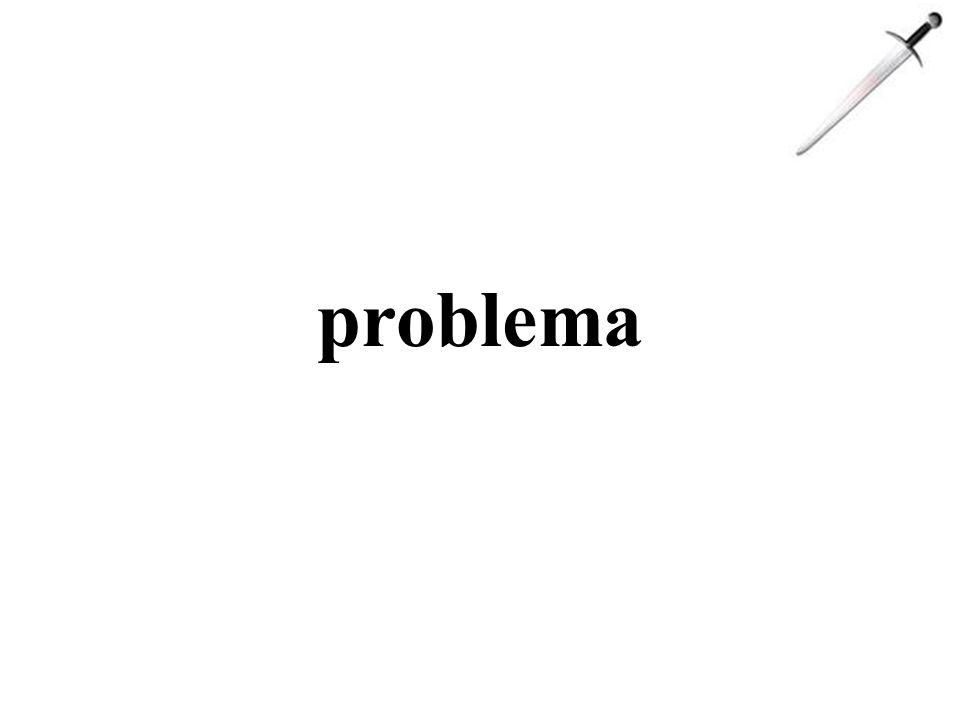 problema análise solução