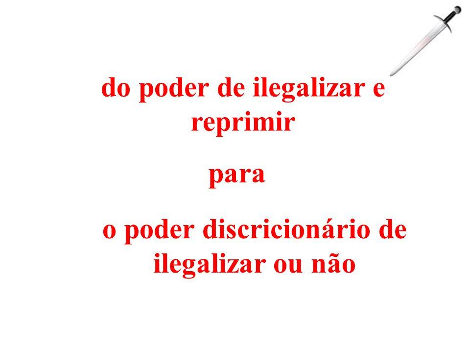 ameaça de ilegalização repressão policial e judicial transgressões coletivizadas