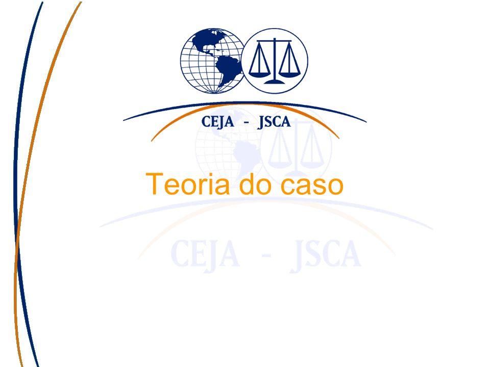 Haga clic para modificar el estilo de subtítulo del patrón Teoria do caso