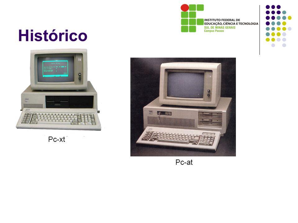 Histórico Pc-xt Pc-at