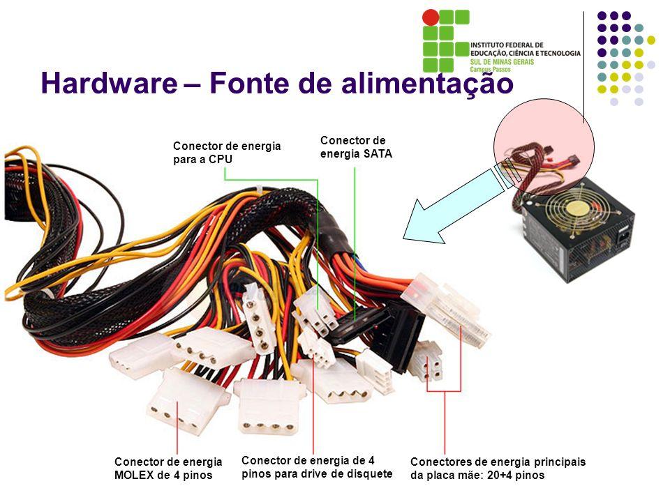 Conector de energia para a CPU Conector de energia SATA Conector de energia MOLEX de 4 pinos Conector de energia de 4 pinos para drive de disquete Con