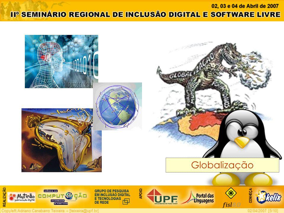 Copyleft Adriano Canabarro Teixeira – [teixeira@upf.br]02/04/2007 [6/10] Virtualização crescente