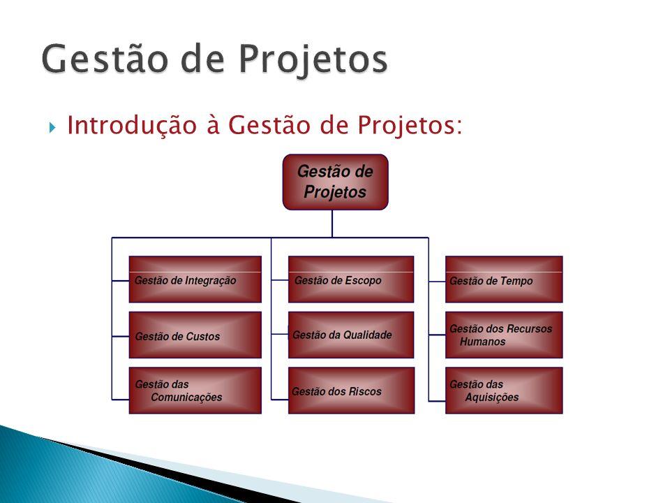 Introdução à Gestão de Projetos: