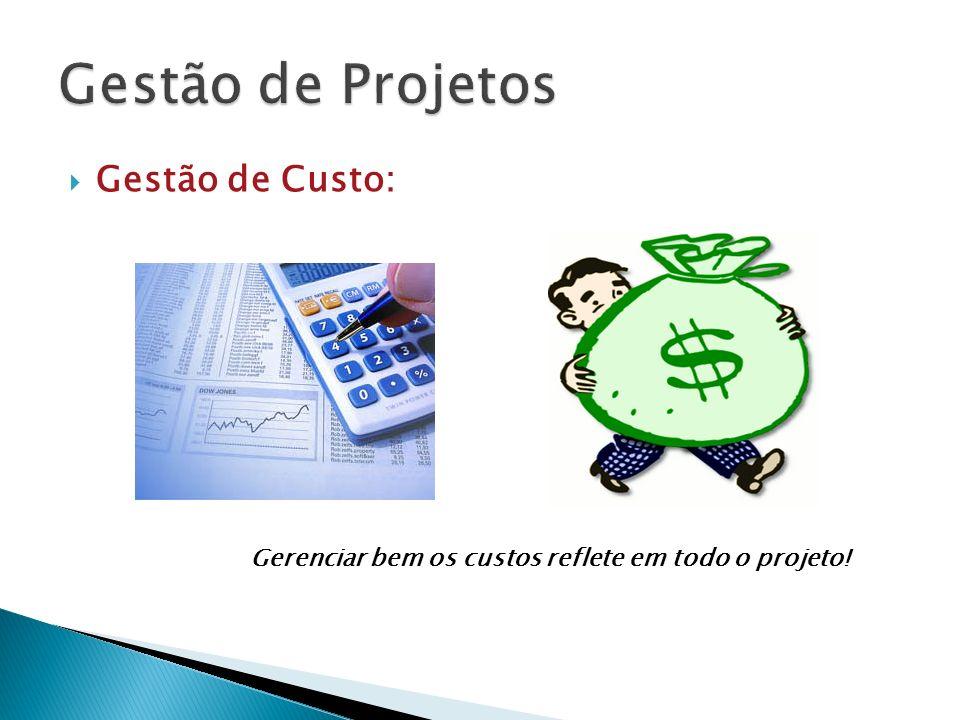 Gestão de Custo: Gerenciar bem os custos reflete em todo o projeto!