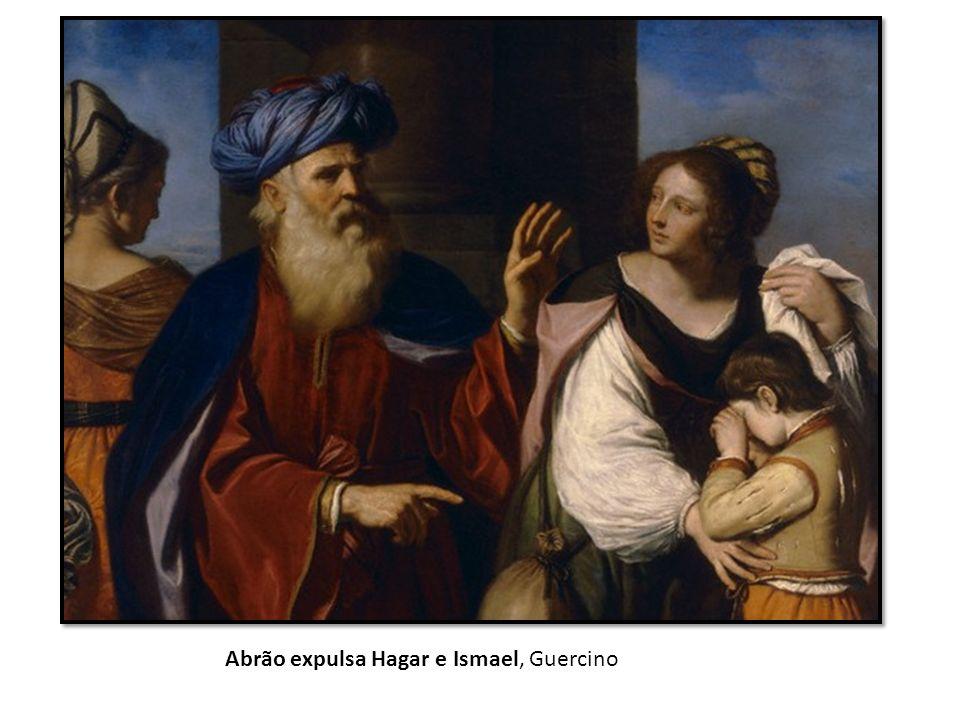 Abrão expulsa Hagar e Ismael, Guercino