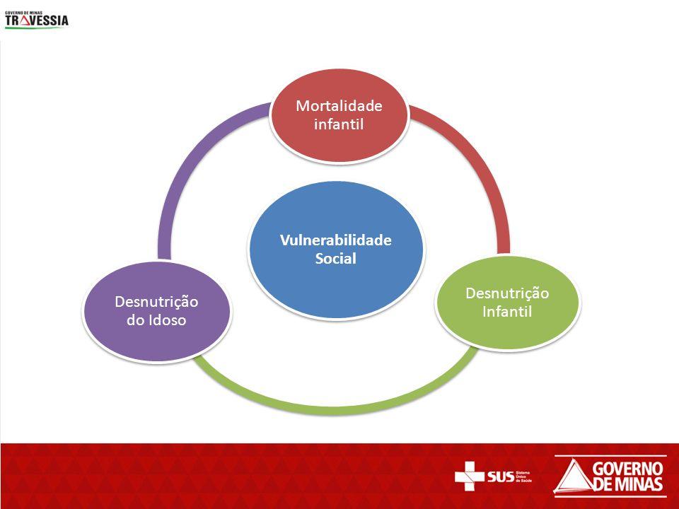 Vulnerabilidade Social Mortalidade infantil Desnutrição Infantil Desnutrição do Idoso