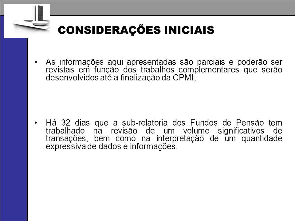 OPERAÇÕES ATÍPICAS IDENTIFICADAS BOVESPA / BM&F Uma das modalidades identificadas para desvio de recursos das EPPCs.