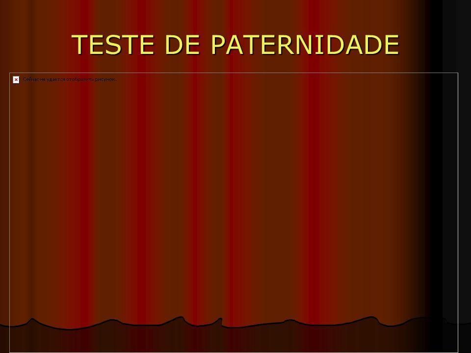 TESTE DE PATERNIDADE