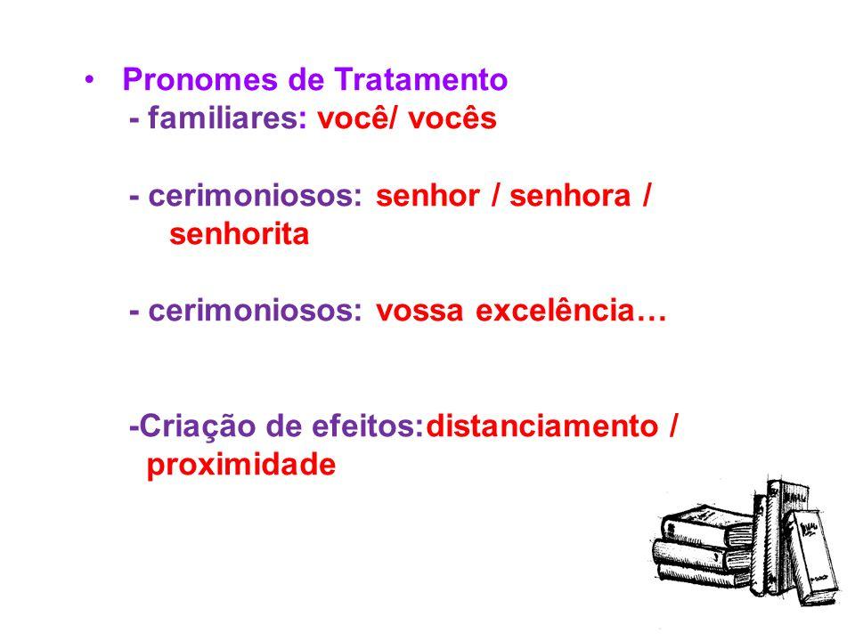 Pronomes Relativos ( cujo, quanto/s, os/as quais, cujos,a qual, cuja, quem, que) Exemplos: A senhora, com quem falei, é professora. Este é o livro que