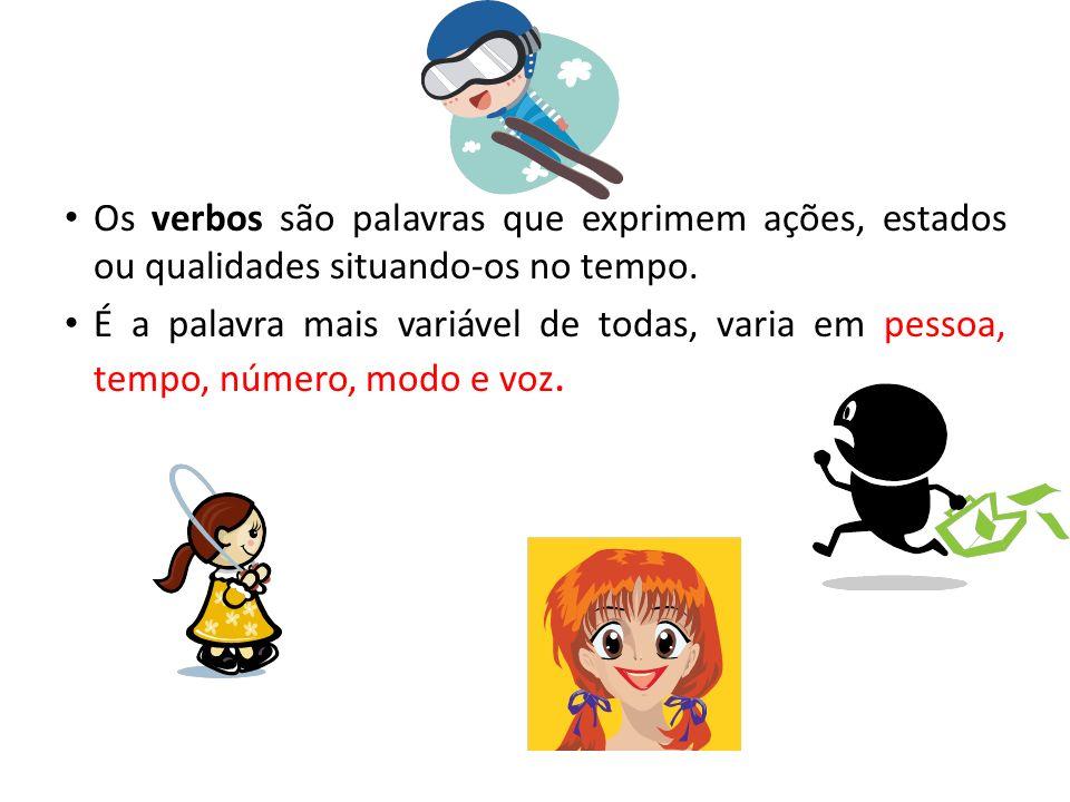 Os verbos se classificam em: Principal Auxiliar De Ação De Ligação Regular Irregular Defectivo Pronominal Transitivo Intransitivo Exemplos - Abra imed