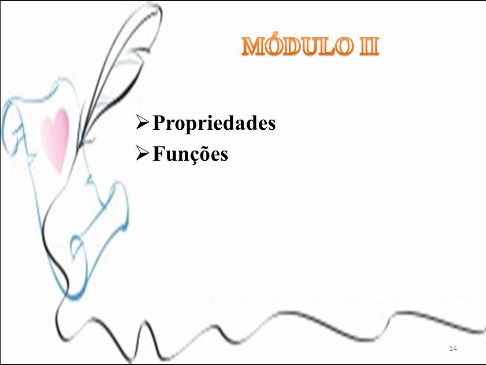 Propriedades Funções 14