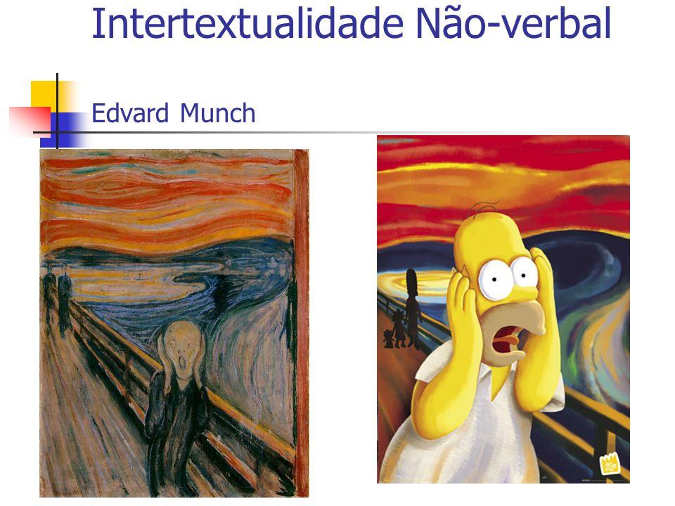 Intertextualidade Não-verbal Edvard Munch