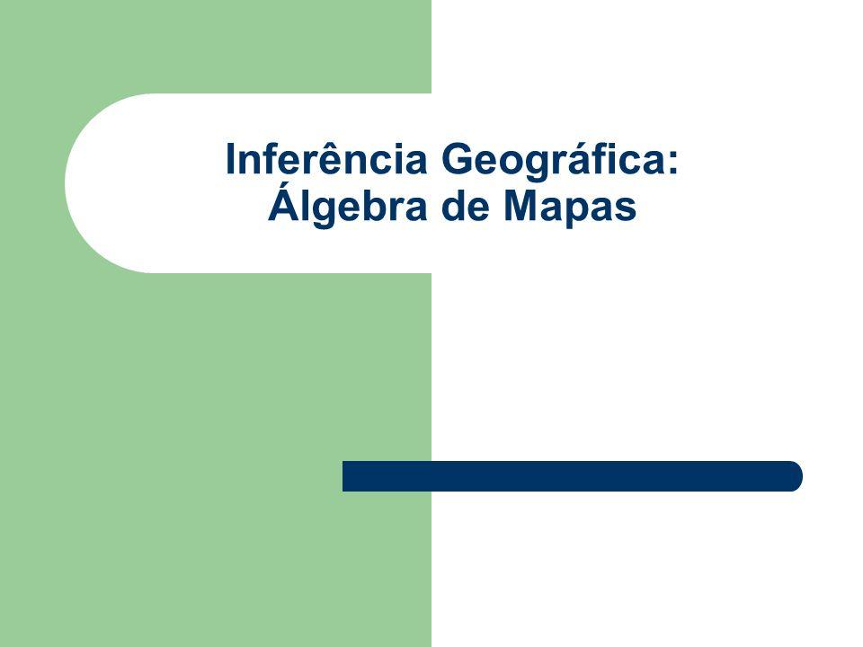 2 Os Tipos de Inferência Geográfica Produto só depende de um dado de entrada – Declividade (depende apenas da altimetria) – Teor de argila (depende apenas dos perfis de solo) Transformação da altimetria em declividade – Procedimento determinístico Transformação dos perfis em teor de argila – Distribuição (superfície, campo) contínua a partir de amostras – Procedimento geoestatístico Modelo inferencial univariado – Determinístico – Estatístico