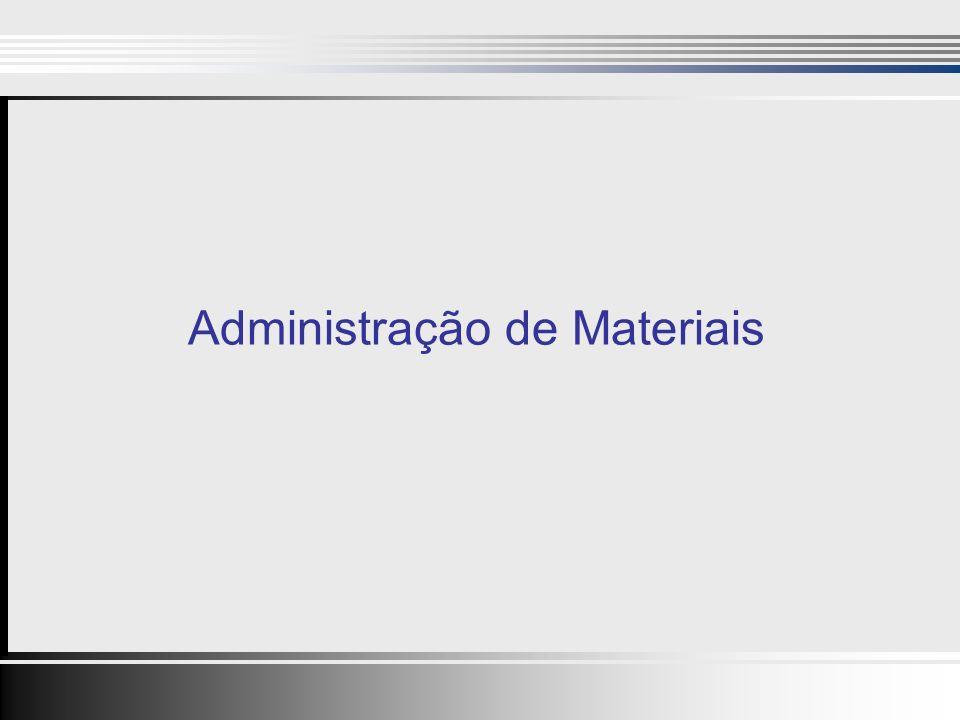 2 Importância do Departamento de Materiais 22 40 a 80% do preço de venda de um produto é custo de compra.