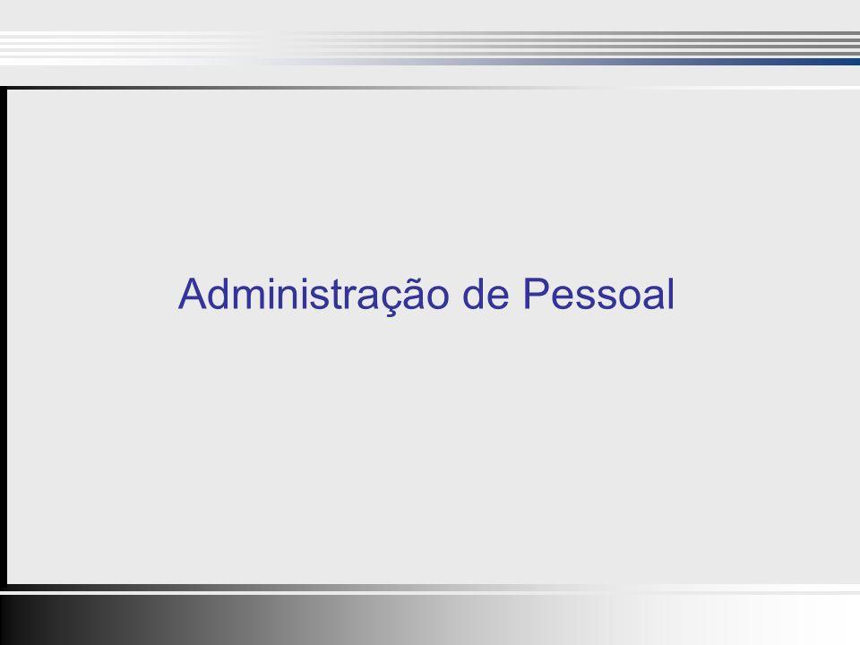 1 Administração de Pessoal