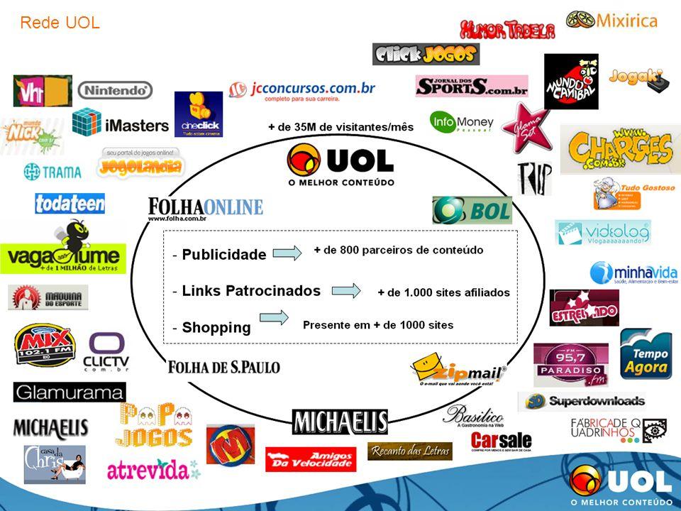 publicidade@uol.com.br / (11) 3038-8200 14 Rede UOL