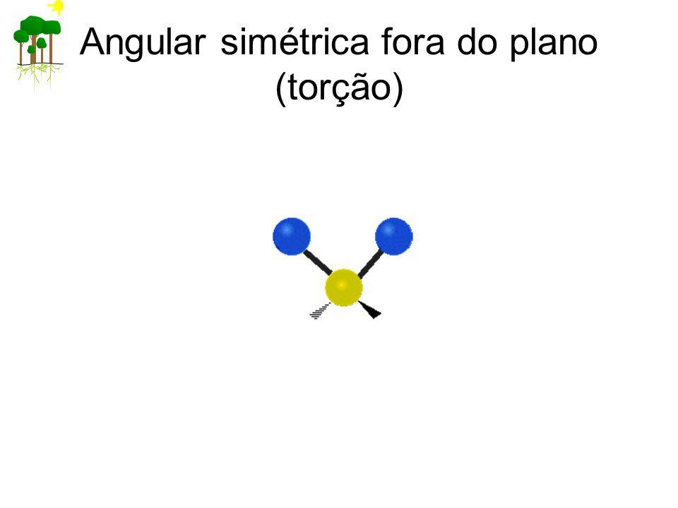 Angular simétrica fora do plano (torção)