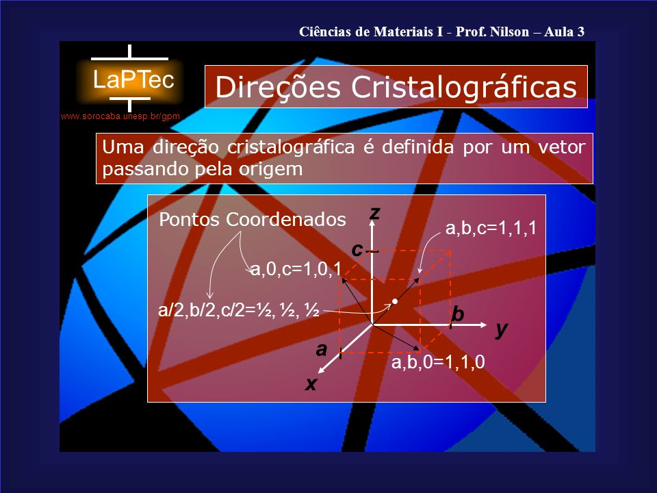 Ciências de Materiais I - Prof.Nilson – Aula 3 www.sorocaba.unesp.br/gpm 1.