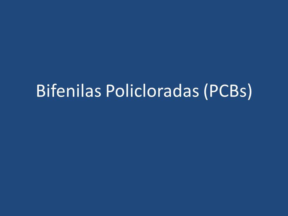 Bifenilas Policloradas (PCBs)