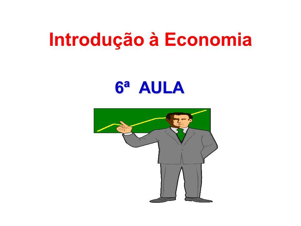 6ª AULA Introdução à Economia