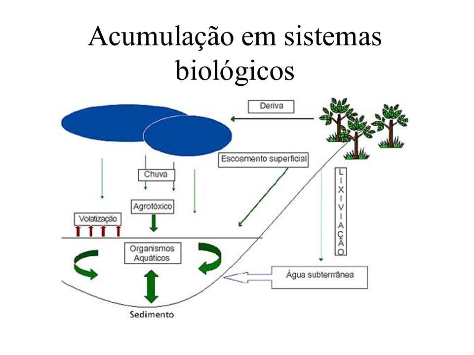Acumulação em sistemas biológicos