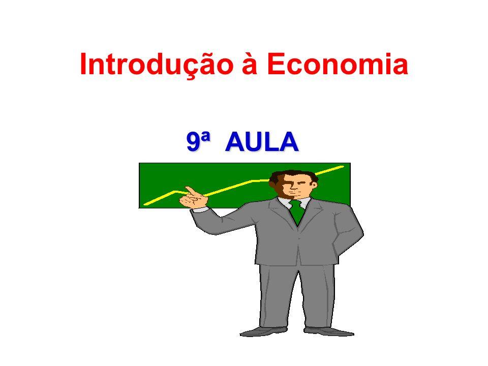 9ª AULA Introdução à Economia