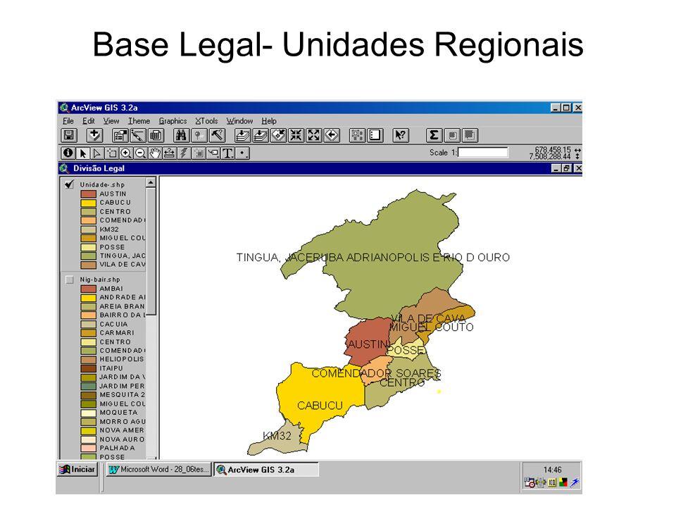 gdornele@posgrad.nce.ufrj.br Base Legal- Unidades Regionais