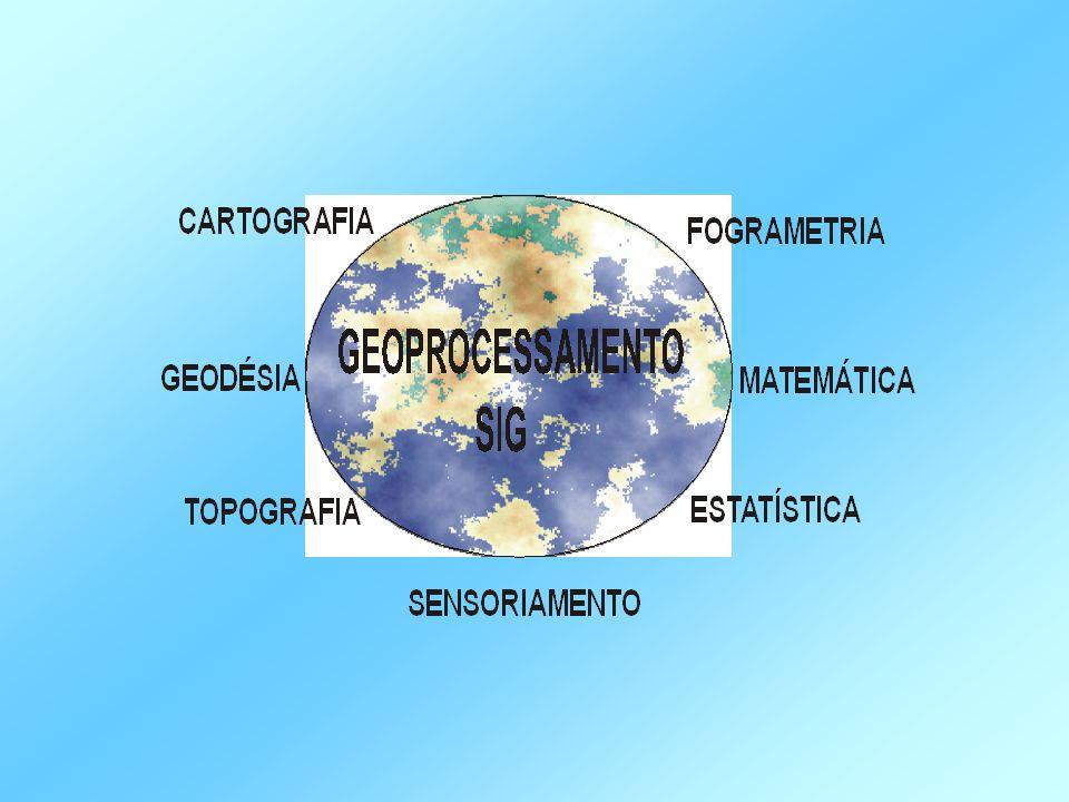 As entidades, representadas por seus atributos (inclusive sua forma geométrica), são incorporadas a um banco de dados relacional.