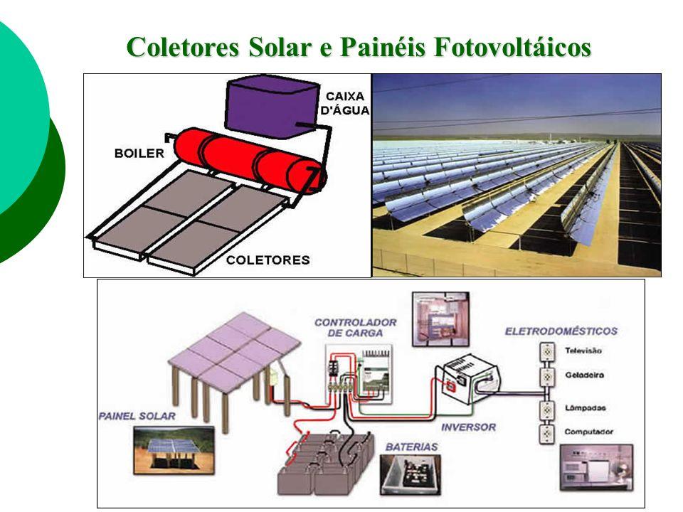 Coletores Solar e Painéis Fotovoltáicos
