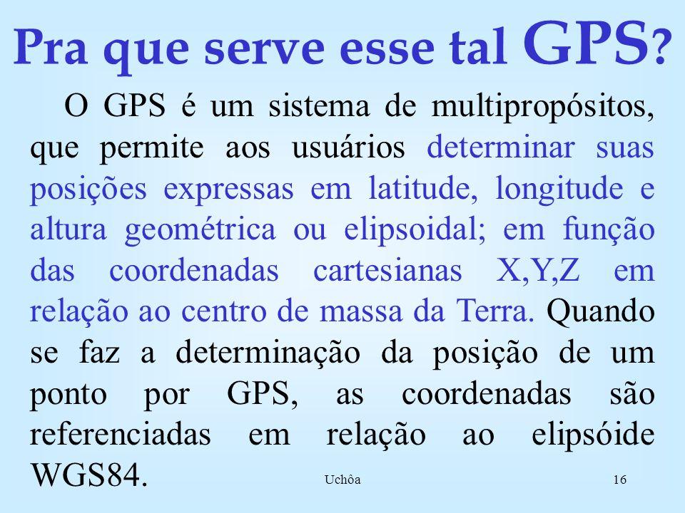 Uchôa15 Compare TRANSIT e GPS!