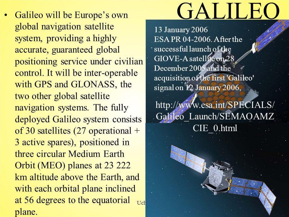 Uchôa34 Passo 2 Medindo a distância entre o receptor e o satélite GPS Surpreendentemente, a idéia básica por trás de uma das formas de medir essa distância é muito antiga.