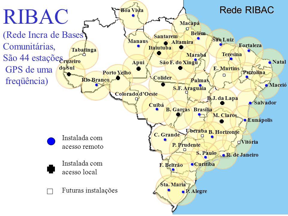 Uchôa55 Estação RBMC Belém